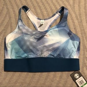 NWT Under Armour Mid-impact Sports Bra
